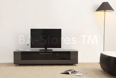 B-Modern Editor Remix Mini TV Stand in Grey by B-Modern