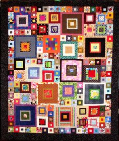 T-The Square Family Reunion by Linda Rotz Miller Quilts & Quilt Tops on Flickr.