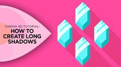 In this quick tutorial I'll be covering how you can easily apply a long shadow to your 3D objects in Cinema 4D.