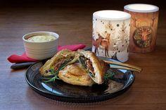 Vegetarian Wellington with sweet potato souffle. Warning, the webside is in icelandic. Portobello, Vegan Vegetarian, French Toast, Easy Meals, Food And Drink, Veggies, Favorite Recipes, Healthy, Breakfast