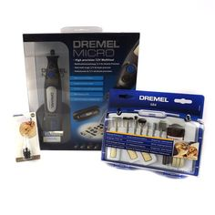 Micro Dremel with Multi Chuck and Accessory Set.