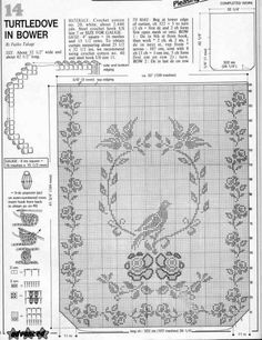 ru / Foto n º 63 - Cortinas - Crochet Curtain Pattern, Crochet Curtains, Curtain Patterns, Crochet Tablecloth, Lace Patterns, Crochet Doilies, Crochet Patterns, Crochet Home, Crochet Trim
