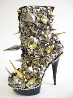 Seriously Studded Fashion shoe