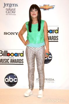 Performer Carly Rae Jepsen at the 2012 Billboard Music Awards. Many amazing photos are inside.