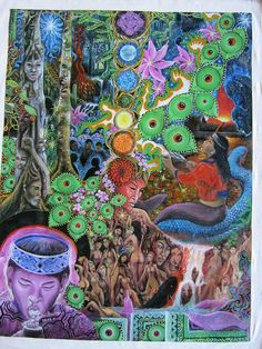 Everything Is Connected, Visionary Art, Psychedelic Art, Good Vibes, Trippy, Spirituality, Shamanism, Bolivia, Creative