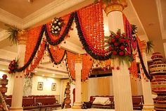 Indian wedding decor ideas. Mandap design ideas