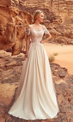 Oksana Mukha Wedding Dresses 2018 Libia / http://www.deerpearlflowers.com/oksana-mukha-wedding-dresses-2018/