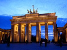 Brandenburg Gate, Berlin, Germany; an amazing and somber place to visit.