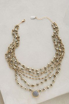 Layered Moonstone Choker - anthropologie.com