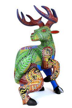 Fine Oaxacan Wood Carvings - Malio Castellanos