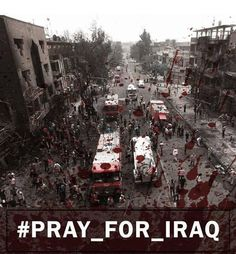Pray for Iraq - Pray for Humanity  May the curse of God be upon the enemies of Humanity.   Shia Multimedia Team: http://ift.tt/1L35z55