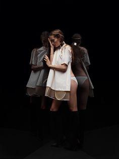 Iekeliene Stange In Fashion Fetish by Max Snow for Purple Magazine S/S 2013