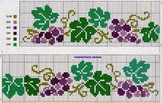 Cross Stitch Borders, Cross Stitch Alphabet, Cross Stitch Flowers, Cross Stitch Designs, Cross Stitching, Cross Stitch Embroidery, Cross Stitch Patterns, Embroidery Patterns Free, Embroidery Designs