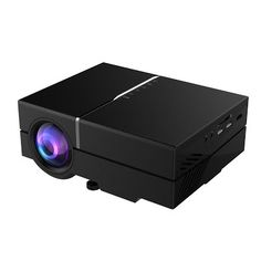"""""""Features & Benefits"""" Deeteck T50 1200 Lumens Mini LCD projector,Multimedia Home Theater Video Projector-Max 150"""" Screen Optical Keystone Support 1080P USB/AV/SD/HDMI/VGA Interface For Outdoor Movie Night,Video Games"""