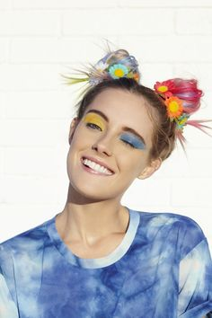 I LOVE Chloe Norgarrd's hair style and colors!