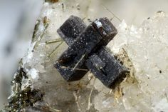 Steacyite, K1-x(Ca,Na)2ThSi8O20 (x=0.2 to 0.4), Poudrette quarry, Mont Saint-Hilaire, La Vallée-du-Richelieu RCM, Montérégie, Québec, Canada. Good sample of brown twinned crystals of steacyite up to 1.35 mm. Copyright © Matteo Chinellato