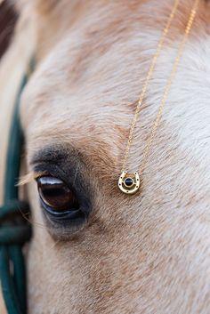 Secret Horse Photo Pendant
