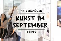 Auf die Sommerpause folgt auch in diesem Jahr die Berlin Art Week und das heißt Kunstmessen, Gallery Nights, BBQs und Partys.