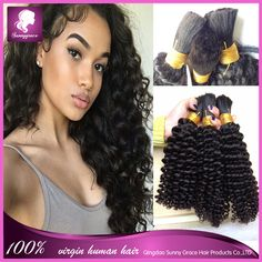 Find More Human Hair Extensions Information about Brazilian virign kinky curly human braiding hair bulk 100g/piece top quality afro kinky curly human hair extension no weft,High Quality hair color long hair,China hair products relaxed hair Suppliers, Cheap hair styles natural hair from Sunny Grace Hair Product Company on Aliexpress.com