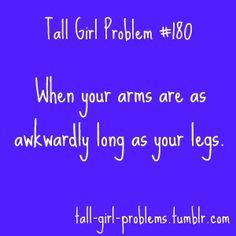 tall girl problem #180