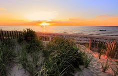 Sunset at Cape Cod Bay, Massachusetts
