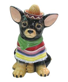 Another great find on #zulily! Chihuahua Cookie Jar by Westland Giftware #zulilyfinds