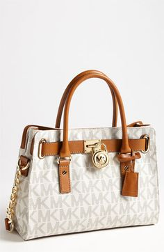 MICHAEL Michael Kors 'Hamilton' Satchel available at #Nordstrom