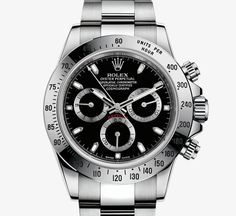 Rolex Cosmograph Daytona Watch: 904L steel – M116520-0015