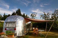 Camping caravanas Airstream en Francia