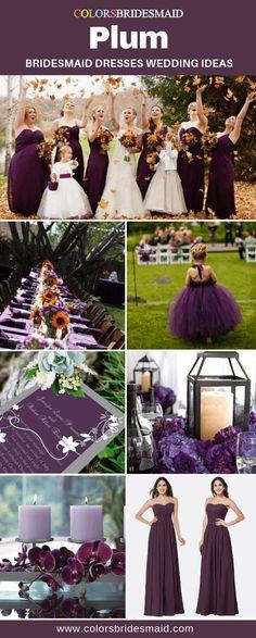 Plum bridesmaid dresses in 2019 plum bridesmaid dresses Plum Bridesmaid Dresses, Fall Wedding Bridesmaids, Wedding Dresses, Fall Dresses, Halloween Bridesmaid Dress, Prom Dresses, Plum Fall Weddings, Purple And Gold Wedding, Plum Wedding Colors