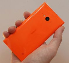 The Nokia Lumia 730.