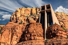 Chapel of the Holy Cross in Sedona AZ integrates architecture and nature