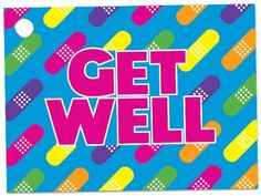 Rainbow Get Well Theme Gift Cards3-3/4x2-3/4' (30 unit, 6 pack per unit.) ** Click on the image for additional details.