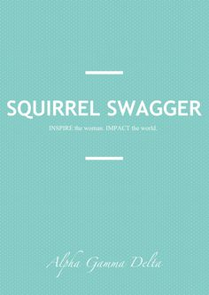 Squirrel Swagger