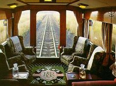 South Africa's luxurious train - The Rovos Rail.