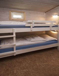 Hytter Bunk Beds, Cabins, Beach, Furniture, Home Decor, Decoration Home, Double Bunk Beds, The Beach, Room Decor