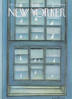 The New Yorker - Monday, July 11, 1977 - Issue # 2734 - Vol. 53 - N° 21 - Cover by : André François