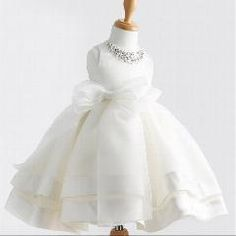 [ 18% OFF ] 2015 New Girls Dress For Baby Flower Girl Princess Dresses Kids Formal Wedding Christening Dress For Party/birthday!