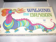 Walking the Dragon Vintage 1960's game