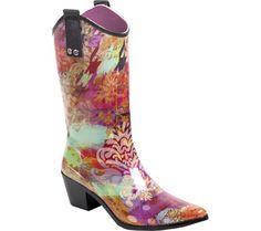 RainBOPS Cowgirl Style Rain Boot