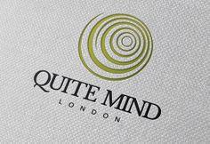 Quite Mind London, logo design by evokeu. evokeu.com