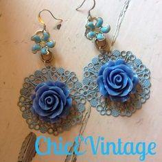 ChicEVintage Jewelry - Repurposed Vintage Earrings