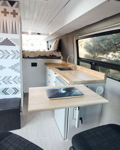 Van Conversion Interior, Camper Van Conversion Diy, Van Conversion Cabinets, Sprinter Conversion, Van Storage, Storage Ideas, Motorhome, Van Home, Van Living