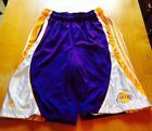 For Sale - Los Angeles Lakers Nba Basketball Shorts Men's Size Medium - See More At http://sprtz.us/LakersEBay