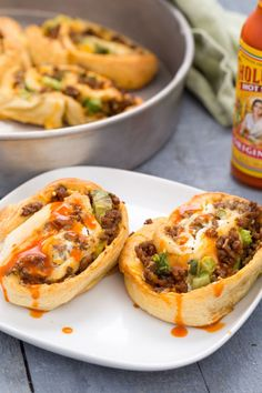 Soft taco lovers, prepare to freak over these cheesy, beefy, saucy rolls. Get the recipe from Delish.