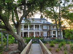Rear Exterior - traditional - exterior - charleston - by Phillip W Smith General Contractor, Inc.
