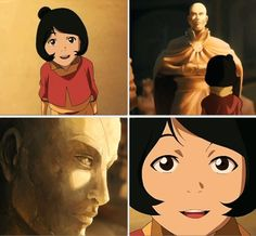 """Aang had to have just been """"dad"""" to to his kids, but his grandchildren? Separated as they are by his early death, how much awe must surround him in their little heads. I know I can't be the only fan who hopes Jinora meets Grandpa Aang during her journey into the Spirit World."""