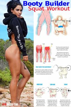 You know what the fastest way to a tighter stronger curvier perkier butt is? Gym Workout For Beginners, Fitness Workout For Women, Workout Videos, Body Fitness, Leg Workout Women, Home Exercise Routines, At Home Workouts, Transformation Fitness, Perky Butt