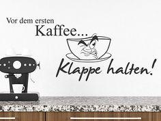 Lustige Wandtattoo Sprüche | witzig & humorvoll | Wandtattoos.de Fictional Characters, Pictures, Panel Room Divider, Kaffee, Fantasy Characters
