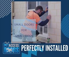 We make sure everything is aligned and installed perfectly. 🐈  We offer pet doors for your furry friends.🐩 We can also upgrade your glass windows and doors at the same time.🐕 Small Doors, Pet Door, Western Australia, Perth, Your Pet, Windows, Friends, Glass, Drinkware